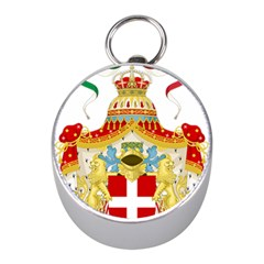 Coat of Arms of The Kingdom of Italy Mini Silver Compasses