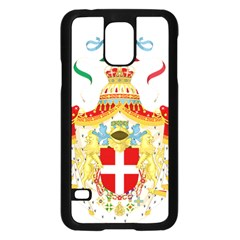 Coat of Arms of The Kingdom of Italy Samsung Galaxy S5 Case (Black)