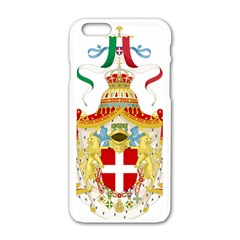 Coat of Arms of The Kingdom of Italy Apple iPhone 6/6S White Enamel Case