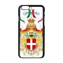 Coat of Arms of The Kingdom of Italy Apple iPhone 6/6S Black Enamel Case