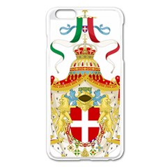 Coat of Arms of The Kingdom of Italy Apple iPhone 6 Plus/6S Plus Enamel White Case