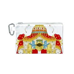 Coat of Arms of The Kingdom of Italy Canvas Cosmetic Bag (S)