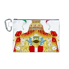 Coat of Arms of The Kingdom of Italy Canvas Cosmetic Bag (M)