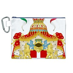 Coat of Arms of The Kingdom of Italy Canvas Cosmetic Bag (XL)