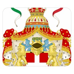 Coat of Arms of The Kingdom of Italy Double Sided Flano Blanket (Small)