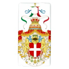 Coat of Arms of The Kingdom of Italy Galaxy Note 4 Back Case