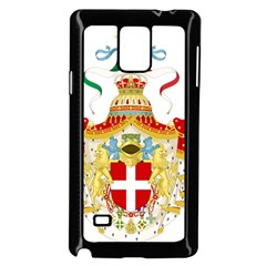 Coat of Arms of The Kingdom of Italy Samsung Galaxy Note 4 Case (Black)
