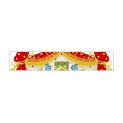Coat of Arms of The Kingdom of Italy Flano Scarf (Mini)