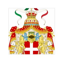 Coat of Arms of The Kingdom of Italy Small Satin Scarf (Square)