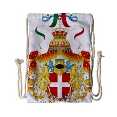 Coat of Arms of The Kingdom of Italy Drawstring Bag (Small)