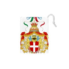 Coat of Arms of The Kingdom of Italy Drawstring Pouches (XS)
