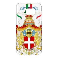 Coat of Arms of The Kingdom of Italy Samsung Galaxy S7 Edge Hardshell Case