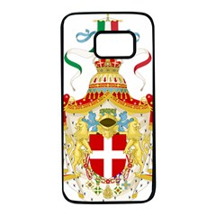 Coat of Arms of The Kingdom of Italy Samsung Galaxy S7 Black Seamless Case