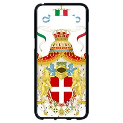 Coat of Arms of The Kingdom of Italy Samsung Galaxy S8 Black Seamless Case