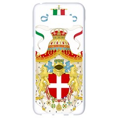 Coat Of Arms Of The Kingdom Of Italy Samsung Galaxy S8 White Seamless Case