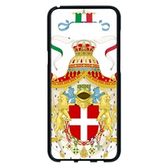 Coat of Arms of The Kingdom of Italy Samsung Galaxy S8 Plus Black Seamless Case