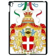 Coat of Arms of The Kingdom of Italy Apple iPad Pro 9.7   Black Seamless Case