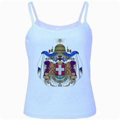 Greater Coat of Arms of Italy, 1870-1890  Baby Blue Spaghetti Tank