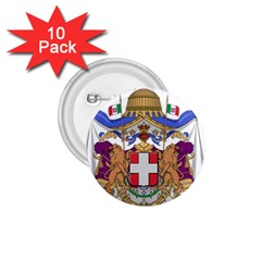 Greater Coat of Arms of Italy, 1870-1890  1.75  Buttons (10 pack)