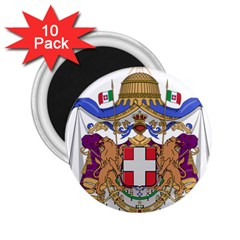 Greater Coat of Arms of Italy, 1870-1890  2.25  Magnets (10 pack)