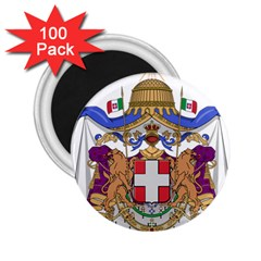 Greater Coat of Arms of Italy, 1870-1890  2.25  Magnets (100 pack)