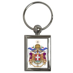 Greater Coat of Arms of Italy, 1870-1890  Key Chains (Rectangle)