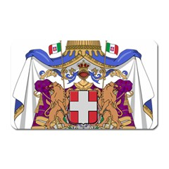 Greater Coat of Arms of Italy, 1870-1890  Magnet (Rectangular)