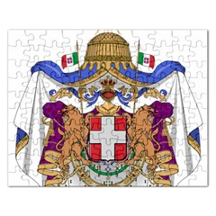 Greater Coat of Arms of Italy, 1870-1890  Rectangular Jigsaw Puzzl