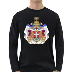 Greater Coat of Arms of Italy, 1870-1890  Long Sleeve Dark T-Shirts