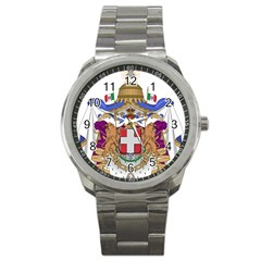 Greater Coat of Arms of Italy, 1870-1890  Sport Metal Watch
