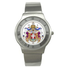 Greater Coat of Arms of Italy, 1870-1890  Stainless Steel Watch