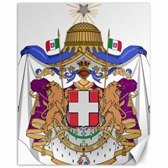 Greater Coat of Arms of Italy, 1870-1890  Canvas 16  x 20