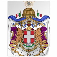 Greater Coat of Arms of Italy, 1870-1890  Canvas 36  x 48