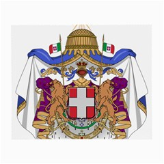 Greater Coat of Arms of Italy, 1870-1890  Small Glasses Cloth (2-Side)