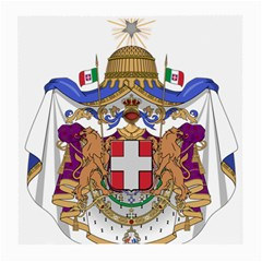 Greater Coat of Arms of Italy, 1870-1890  Medium Glasses Cloth