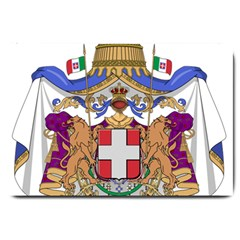 Greater Coat of Arms of Italy, 1870-1890  Large Doormat
