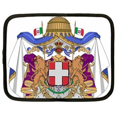Greater Coat of Arms of Italy, 1870-1890  Netbook Case (Large)