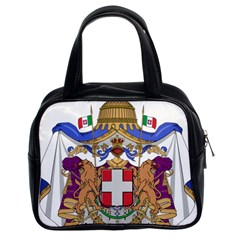 Greater Coat of Arms of Italy, 1870-1890  Classic Handbags (2 Sides)