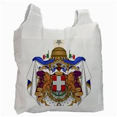 Greater Coat of Arms of Italy, 1870-1890  Recycle Bag (Two Side)