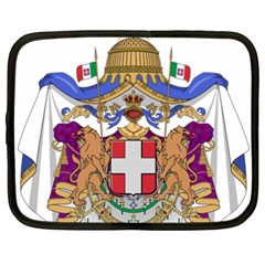 Greater Coat of Arms of Italy, 1870-1890  Netbook Case (XXL)