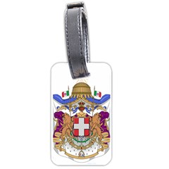 Greater Coat of Arms of Italy, 1870-1890  Luggage Tags (One Side)