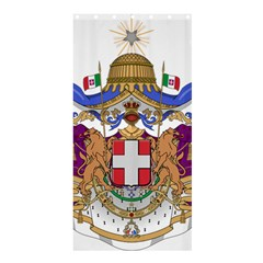 Greater Coat of Arms of Italy, 1870-1890  Shower Curtain 36  x 72  (Stall)