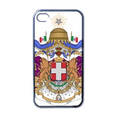Greater Coat of Arms of Italy, 1870-1890  Apple iPhone 4 Case (Black)