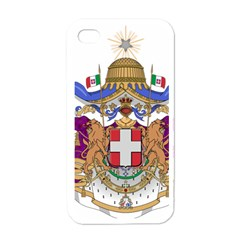 Greater Coat of Arms of Italy, 1870-1890  Apple iPhone 4 Case (White)