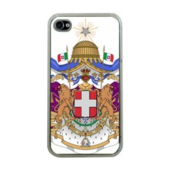 Greater Coat of Arms of Italy, 1870-1890  Apple iPhone 4 Case (Clear)