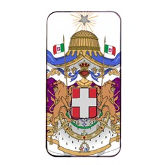 Greater Coat of Arms of Italy, 1870-1890  Apple iPhone 4/4s Seamless Case (Black)