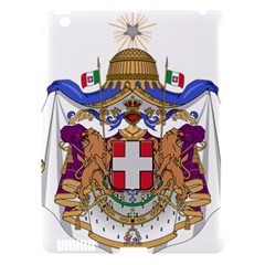 Greater Coat of Arms of Italy, 1870-1890  Apple iPad 3/4 Hardshell Case (Compatible with Smart Cover)
