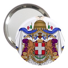 Greater Coat of Arms of Italy, 1870-1890  3  Handbag Mirrors