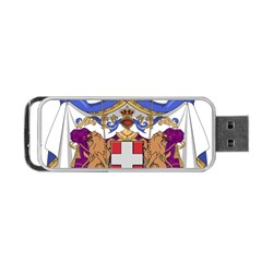 Greater Coat of Arms of Italy, 1870-1890  Portable USB Flash (Two Sides)