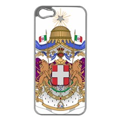 Greater Coat of Arms of Italy, 1870-1890  Apple iPhone 5 Case (Silver)